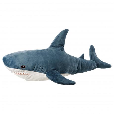 Мягкая игрушка БЛОХЭЙ акула фото 0